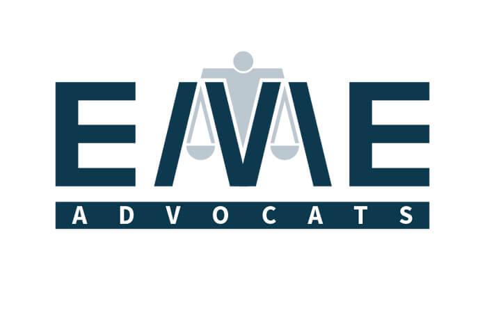 diseño de logotipos e identidad. EME Advocats