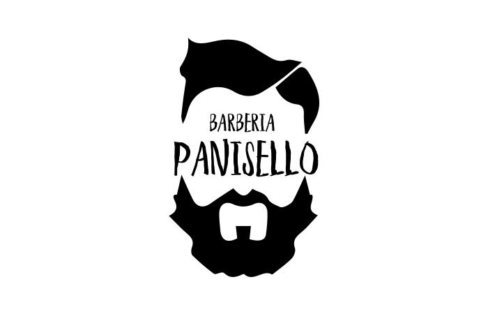diseño de logotipos e identidad. Barbería Panisello